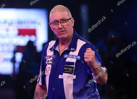 Paul Hogan during the 2019 BDO World Professional Darts Championships at Lakeside, Frimley Green