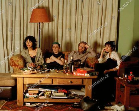 Desiree Akhavan as Leila, John Dagleish as Jon-Criss, Brian Gleeson as Gabe and Michelle Guillot as Francisca