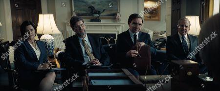 Camille Harman as Mary Matlin, Don McManus as David Addington, Eddie Marsan as Paul Wolfowitz and Steve Carell as D Rumsfeld