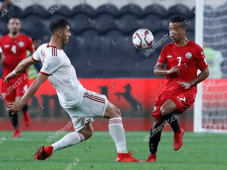 Editorial image of Emirates Soccer AFC Asian Cup Iran Yemen, Abu Dhabi, United Arab Emirates - 07 Jan 2019