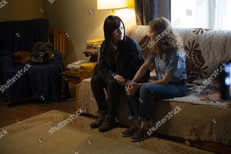 Kate Lyn Sheil as Allison Barnes and Wrenn Schmidt as Megan Holter