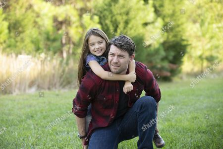 Madeleine McGraw as Amber Barnes and Patrick Fugit as Kyle Barnes