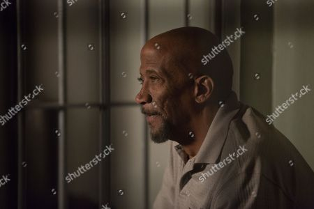 Stock Picture of Reg E. Cathey as Chief Giles