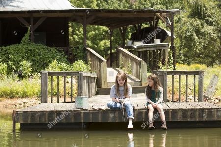 Stock Picture of Callie Brook McClincy as Holly Holter and Madeleine McGraw as Amber Barnes