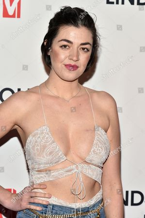 Editorial picture of 'Lindsay Lohan's Beach Club' TV Show Premiere, Arrivals, New York, USA - 07 Jan 2019