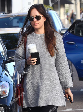 Editorial photo of Dakota Johnson out and about, Los Angeles, USA - 06 Jan 2019