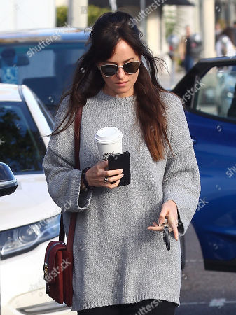 Editorial image of Dakota Johnson out and about, Los Angeles, USA - 06 Jan 2019