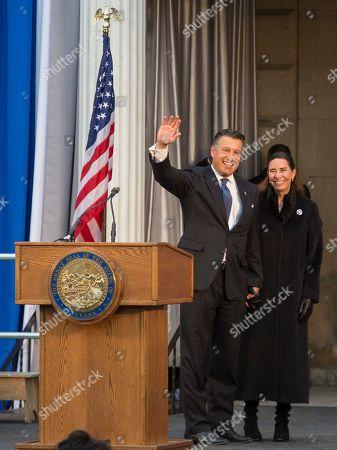 Editorial image of Nevada Governor, Carson City, USA - 07 Jan 2019