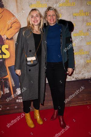 Alexandra Lamy and Chloe Jouannet