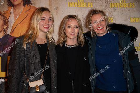 Audrey Lamy, Alexandra Lamy and Chloe Jouannet