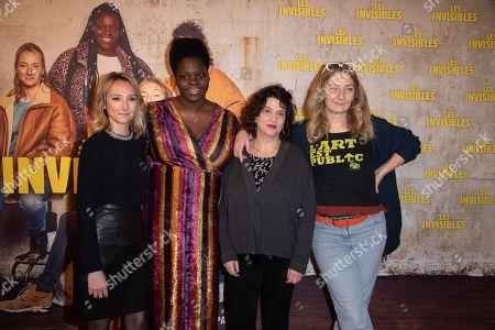 Audrey Lamy, Deborah Lukumuena, Noemie Lvovsky, Louis-Julien Petit and Corinne Masiero
