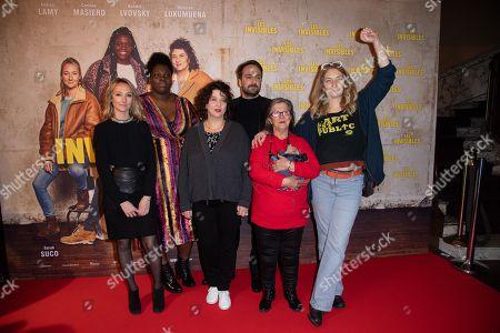 Editorial picture of 'Les Invisibles' film premiere, Paris, France - 07 Jan 2019
