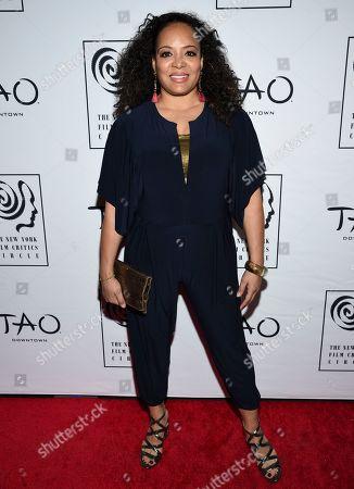 Luna Lauren Velez attends the New York Film Critics Circle Awards at Tao Downtown, in New York