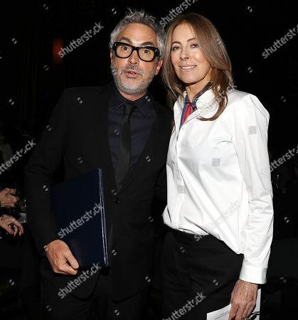 Alfonso Cuaron and Kathryn Bigelow
