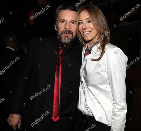 Ethan Hawke and Kathryn Bigelow