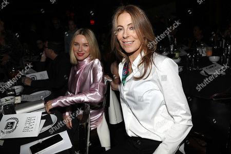 Naomi Watts and Kathryn Bigelow