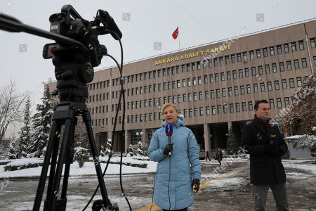Editorial photo of Russia Assassination, Ankara, Turkey - 08 Jan 2019
