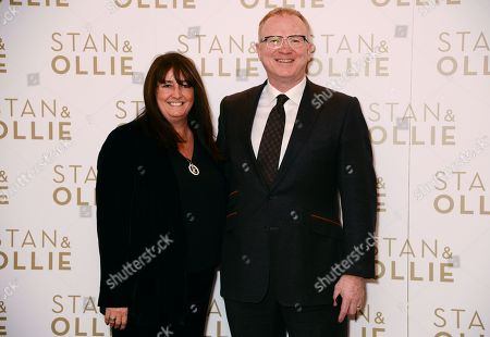 Gill McLeish and Alex McLeish