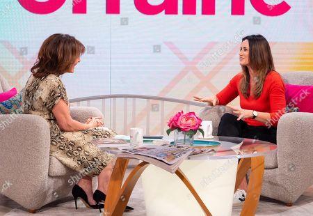 Editorial image of 'Lorraine' TV show, London, UK - 08 Jan 2019
