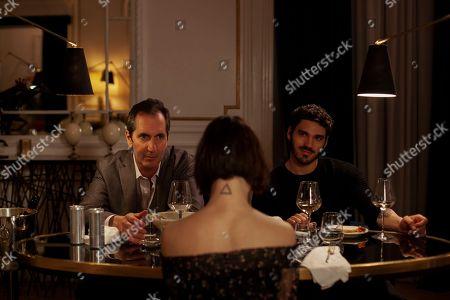 Paolo Calabresi as Saverio, Alice Pagani as Ludovica and Giuseppe Maggio as Fiore