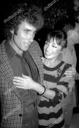 Jim Dale and Karen Valentine USA New York City