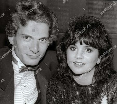 Stock Picture of Rex Smith Linda Ronstadt Undated USA New York City