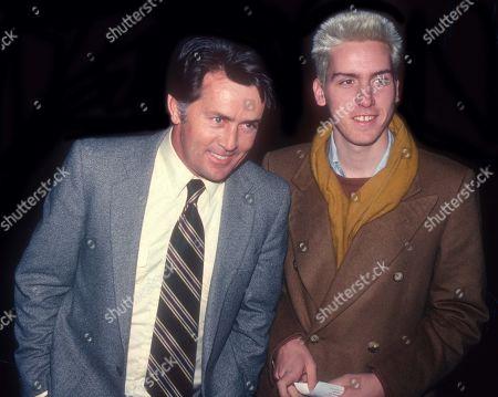 Martin Sheen and Ramon Estevez USA New York City
