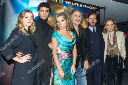 Editorial picture of 'Une Jeunesse Doree' film premiere, Paris, France - 07 Jan 2019