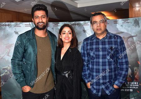 Vicky Kaushal, Yami Gautam and Paresh Rawal