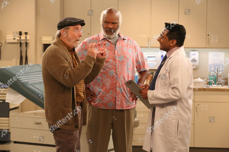 Martin Mull as Charlie, David Alan Grier as Hank and Ravi Patel as Doctor Chad