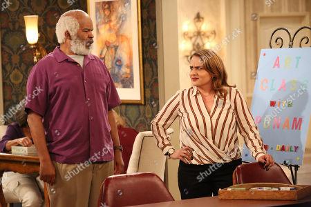 David Alan Grier as Hank and Artemis Pebdani as Allison