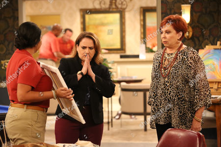 Punam Patel as Punam, Artemis Pebdani as Allison and Vicki Lawrence as Margaret