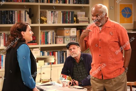 Stock Picture of Artemis Pebdani as Allison, Martin Mull as Charlie and David Alan Grier as Hank