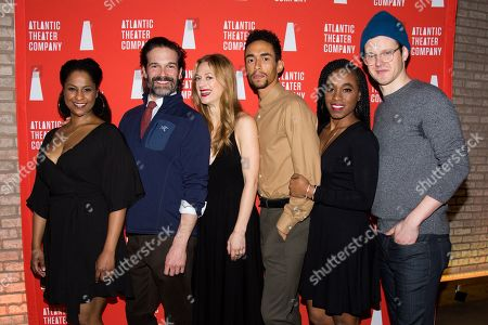 Editorial image of 'Blue Ridge' play opening night, New York, USA - 07 Jan 2019