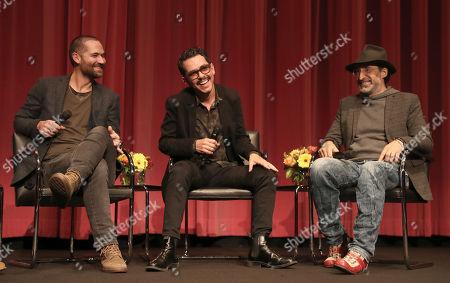 Manuel Garcia-Rulfo, Director Manolo Caro and Bruno Bichir