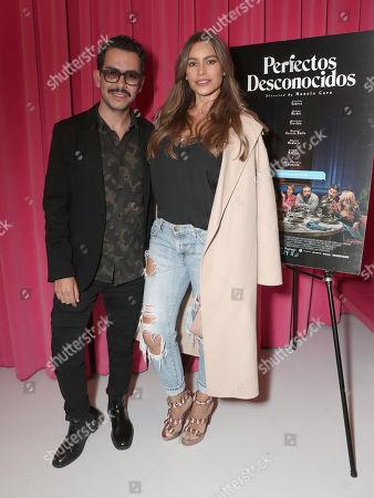 Director Manolo Caro and Sofia Vergara