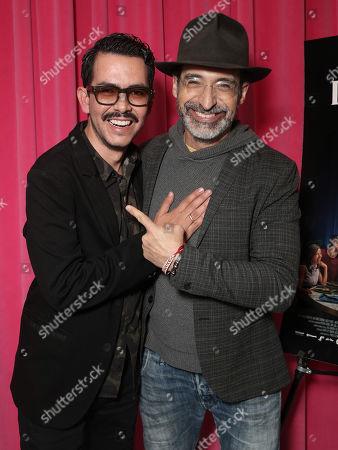 Director Manolo Caro and Bruno Bichir