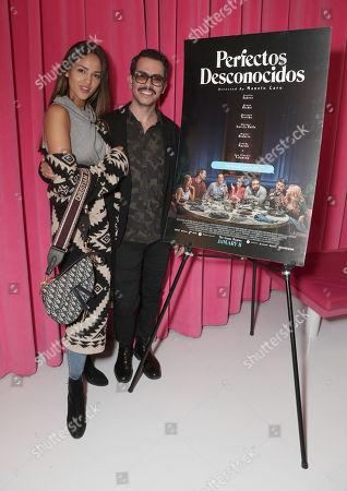 Eiza Gonzalez and Director Manolo Caro