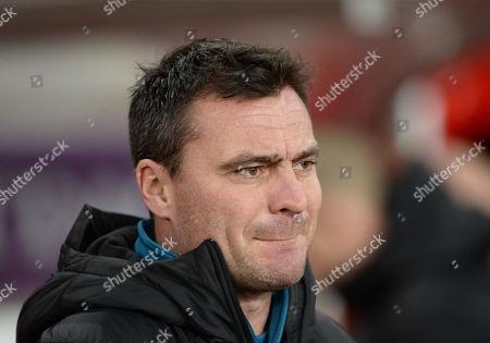 Stock Image of Steve Harper goalkeeper coach for Newcastle United U21s