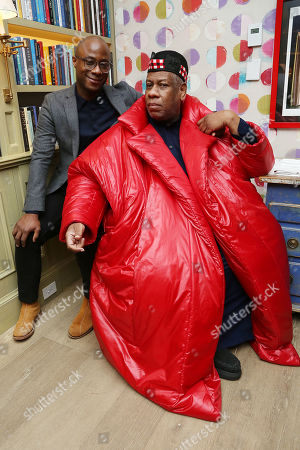 Stock Image of Barry Jenkins, Andre Leon Talley