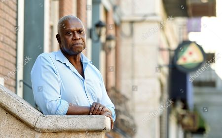 "Andre Braugher, a cast member in the television series ""Brooklyn Nine-Nine,"" poses for a portrait at CBS Radford Studios in Los Angeles"