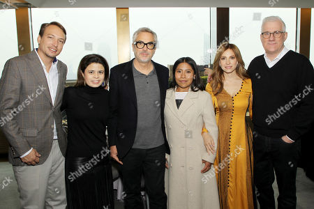 Nicolas Celis (Producer), Gabriela Rodriguez (Producer), Alfonso Curaron (Director), Yalitza Aparicio, Marina de Tavira, David Linde (ROMA)