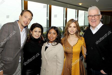Nicolas Celis (Producer), Gabriela Rodriguez (Producer), Yalitza Aparicio, Marina de Tavira, David Linde (ROMA)