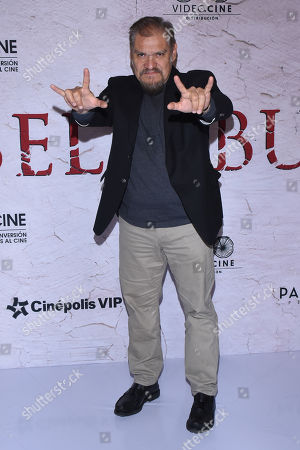Editorial picture of 'Belzebuth' film photocall, Mexico City, Mexico - 08 Jan 2019