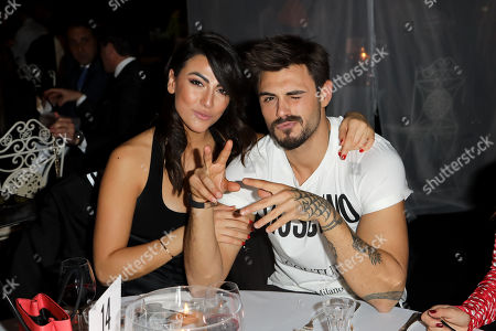 Giulia Salemi and Francesco Monte