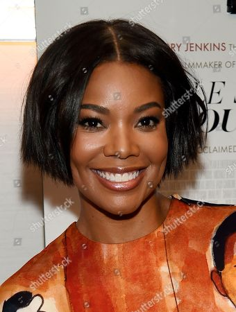 """Gabrielle Union poses before a special screening of the film """"If Beale Street Could Talk"""" at the London Hotel, in West Hollywood, Calif"""