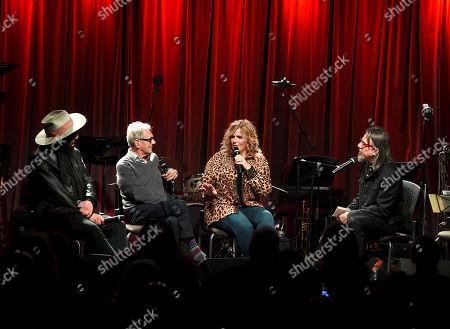 Don Was, Al Schmitt, Trisha Yearwood and Scott Goldman
