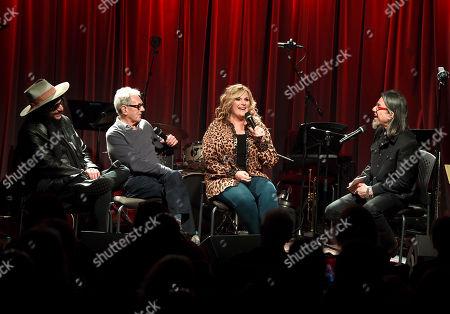 Stock Image of Don Was, Al Schmitt, Trisha Yearwood and Scott Goldman