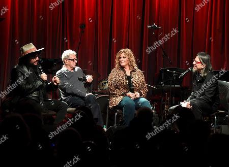 Stock Photo of Don Was, Al Schmitt, Trisha Yearwood and Scott Goldman