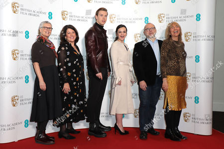Alison Thompson, Pippa Harris, Will Poulter, Hayley Squires and Jane Lush